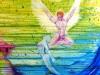 2010 - Amor 3: Gud Amor springer ud - 100x100 cm
