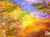 Artmoney-014-031007: Lykkeland (solgt) - 12x18 cm - 200 kr.