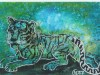 Artmoney-022-031007: Tigerdrømme - 12x18 cm - 200 kr.